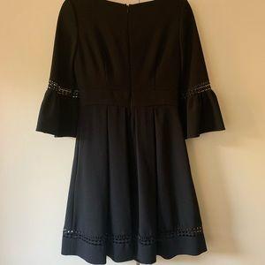 Eliza J Dresses - Eliza J Bell Sleeve Fit and Flare Dress